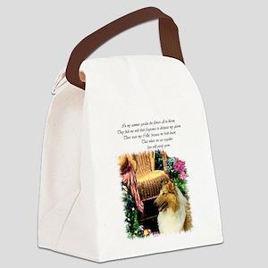 AutumNSummerGarden6 Canvas Lunch Bag