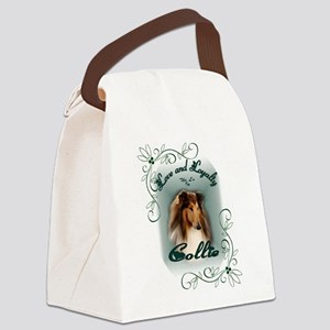 Rough Collie Gifts Canvas Lunch Bag
