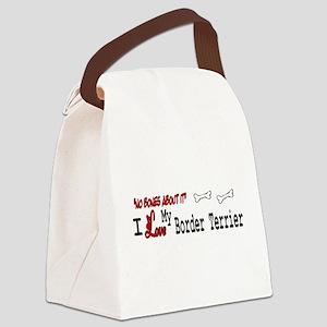 NB_Border Terrier Canvas Lunch Bag