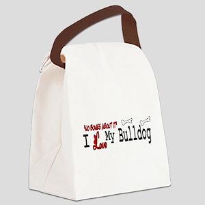 NB_Bulldog Canvas Lunch Bag