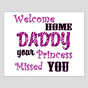 Welcome Home Daddy Small Poster