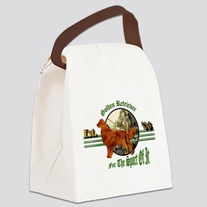 the sport of it wear darks Canvas Lunch Bag