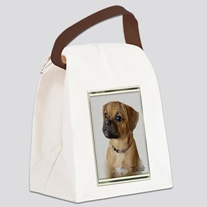 puggle art 4 Canvas Lunch Bag