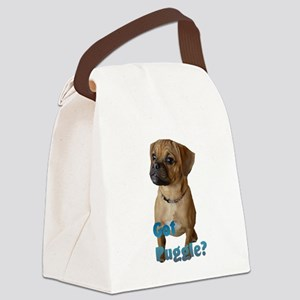 puggle art 2 Canvas Lunch Bag