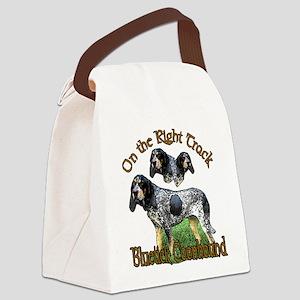 bluetick redo track Canvas Lunch Bag