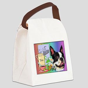 Boston Tea Party Canvas Lunch Bag