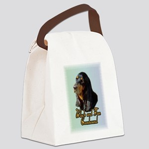 Coonhound_1 Canvas Lunch Bag