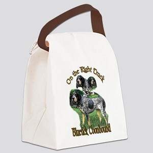 bluetick coonhounds 3 Canvas Lunch Bag