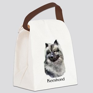 keeshond apparel Canvas Lunch Bag