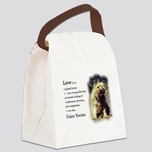 Cairn Terrier Gifts Canvas Lunch Bag
