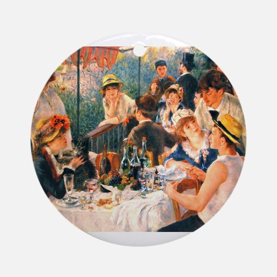 Famous Paintings: Luncheon of The Boating Party Or