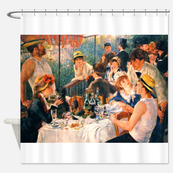 Famous Paintings: Luncheon of The Boating Party Sh
