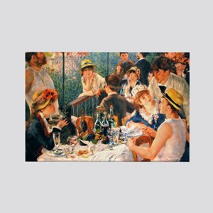 Famous Paintings: Luncheon of The Boating Party Re