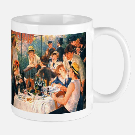 Famous Paintings: Luncheon of The Boating Party Mu