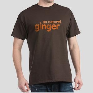 Ginger Au Naturel Dark T-Shirt