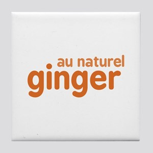 Ginger Au Naturel Tile Coaster