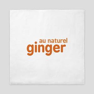 Ginger Au Naturel Queen Duvet