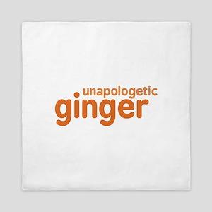Unapologetic Ginger Queen Duvet