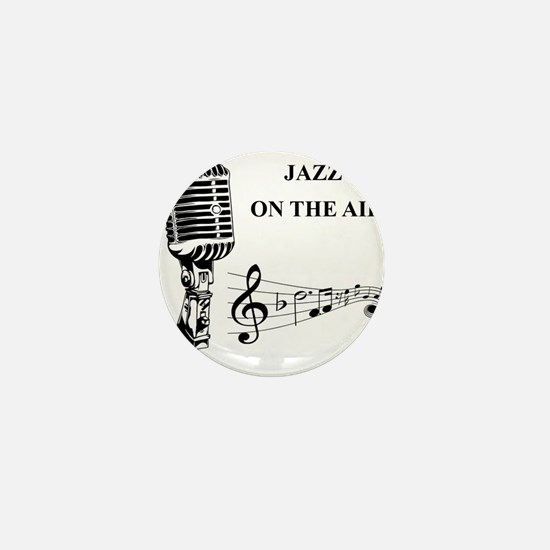 Jazz on the air! Mini Button