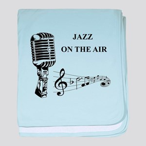 Jazz on the air! baby blanket