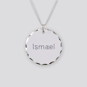 Ismael Paper Clips Necklace Circle Charm