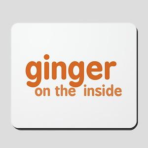 Ginger on the Inside Mousepad