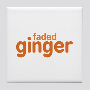 Faded Ginger Tile Coaster