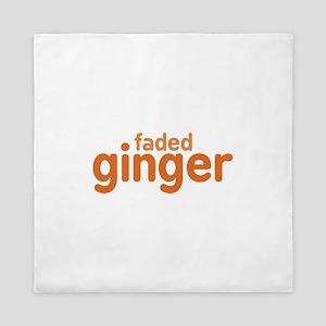 Faded Ginger Queen Duvet