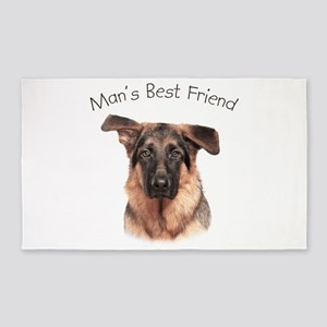 Mans Best Friend 3'x5' Area Rug