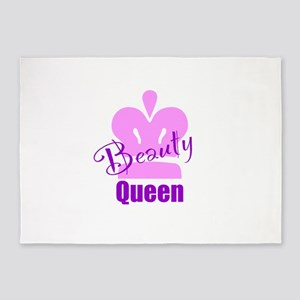 Beauty Queen 5'x7'Area Rug