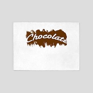 Chocolate 5'x7'Area Rug