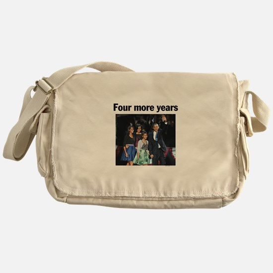 Four More Years: Obama 2012 Messenger Bag