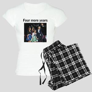 Four More Years: Obama 2012 Women's Light Pajamas
