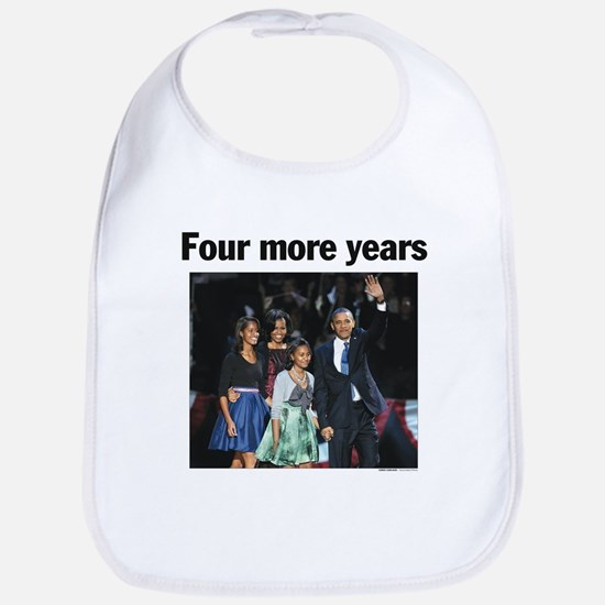 Four More Years: Obama 2012 Bib