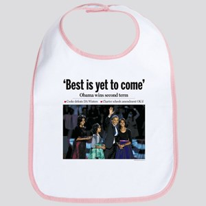 Obama 2012: Best is Yet to Come Bib