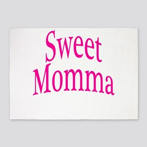 Sweet Momma 5'x7'Area Rug