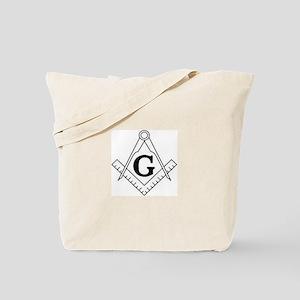 Freemason Symbol Tote Bag