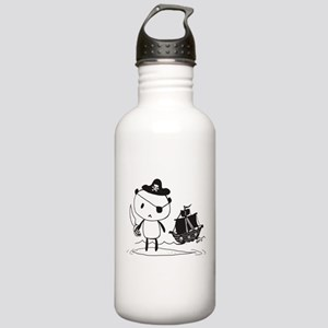 Pirate Panda Stainless Water Bottle 1.0L