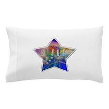 Vivid Colors Peace Guitar Pillow Case