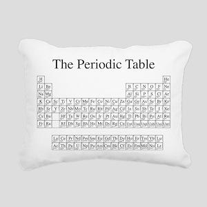 Periodic Table Rectangular Canvas Pillow