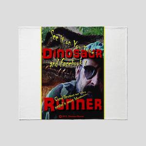 Allosaurus Bait Throw Blanket