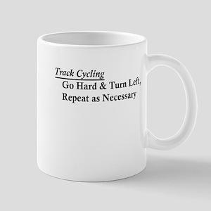 Track Cycling - Go Hard & Turn Left Mug