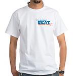 Already Beat White T-Shirt