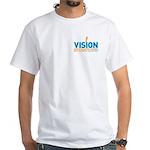 Vision Design 2 White T-Shirt