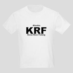 Kenai, Alaska, Alaskan Kids Light T-Shirt