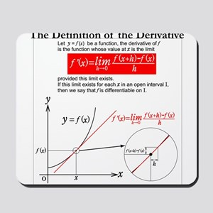The Definition of the Derivative. Mousepad