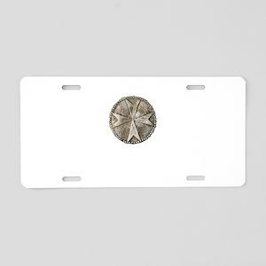 templarcoincopy Aluminum License Plate