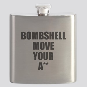 Bombshell move your ass Flask