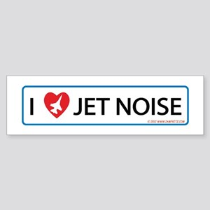 I 3 Jet Noise Sticker (Bumper)