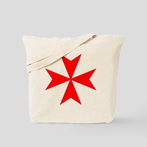 redcrossmaltese Tote Bag